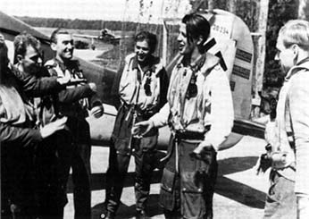 Pilots of 4./JG 26 in mid-1942