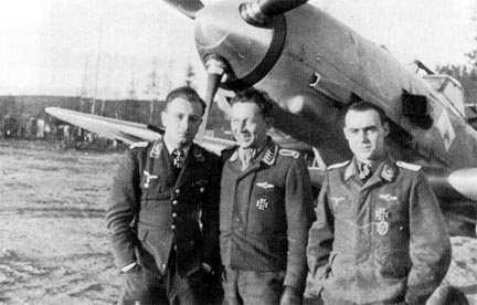 The most successful pilots in the JG 77 in 1941